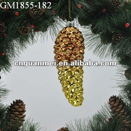 2012 Hanging glass christmas decoration/gift