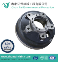 forged CNC forklift steel wheel hub
