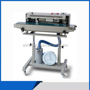 DRF-1000 Vacuum Pneumatic Band Sealing Machine