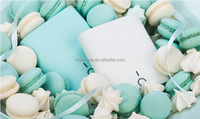 Candy color baby skin 20000 mah daul usb output mobile power bank