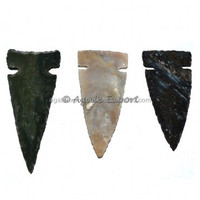 Polished Agate Ancient Arrowheads 2 Inches