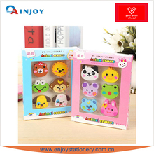 Colorful Animal shape eraser