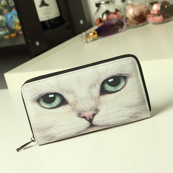 Popular wholesale price printing animal purse cute ladies hand purses for young ladies