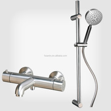 Hot sale stainless steel shower faucet thermostatic shower set
