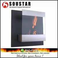 Remote control high - grade carved Indoor Free Standing fireplace