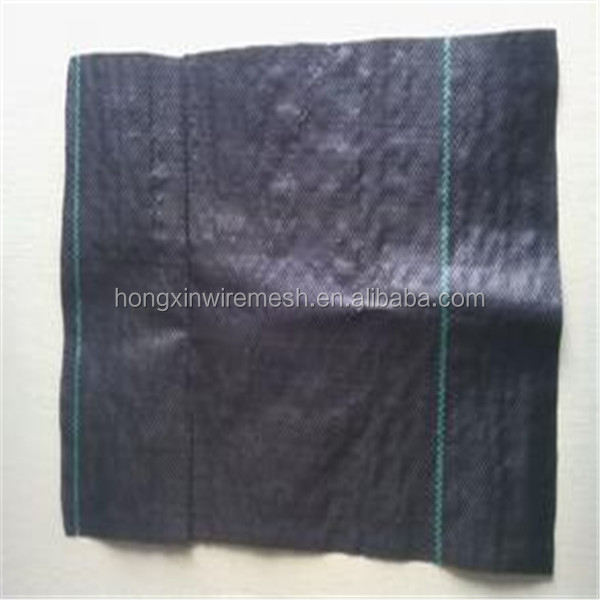 UV treated agricultural woven weed mat