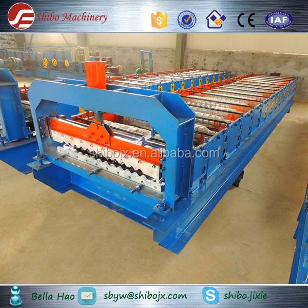 aluminium corrugated /arc profiling machine for roof panel