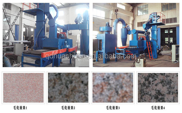 British manufacturing processing of marble stone shot blasting machine