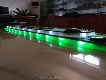 led bar mat promotional gift bar accessories led bar counter mat