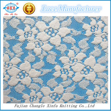Cotton Nylon Spandex Swiss Jacquard Lace Fabrics for Winter Upper Fashion Dress
