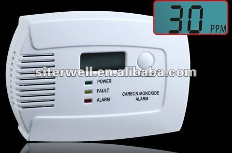 LCD gsm home alarm with EN50291 approval