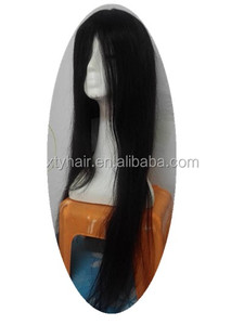 Alibaba express wholesale website factory price high quality stock long human hair lace front wig
