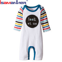 Newborn baby clothes long sleeve fashion adult baby romper pattern