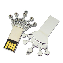 novelty goods promotion gifts GOOD chip 4GB 8GB 16GB 32GB Crown Keys usb flash drive with free samples