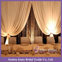 BCK092 custom made curtains drapes and curtains luxury party backdrop