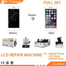 High Efficiency Lcd Repairing Kit Vacuum Oca Lamination Machine + Vacuum Lcd Separator +frame Laminator Machine For Iphone 4 5 6