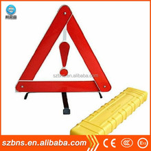 Warning triangle kit/safety triangle warning signs/warning triangle distance