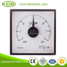 BE-96W Power factor meter COS 5A 100V 0.5-1-0.5
