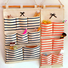 New Door Wall Mounted Home Sundries Clothing Organizer Hanging Storage Bags