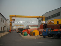 gantry crane specification for electric single girder gantry crane