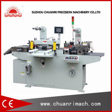 Auto Flatbed Adhesive Foam Label Die Cutting Machine