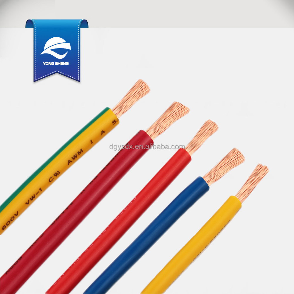 PVC connecting wire UL1015