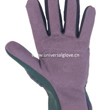 low cost high quality working gloves with pvc dots