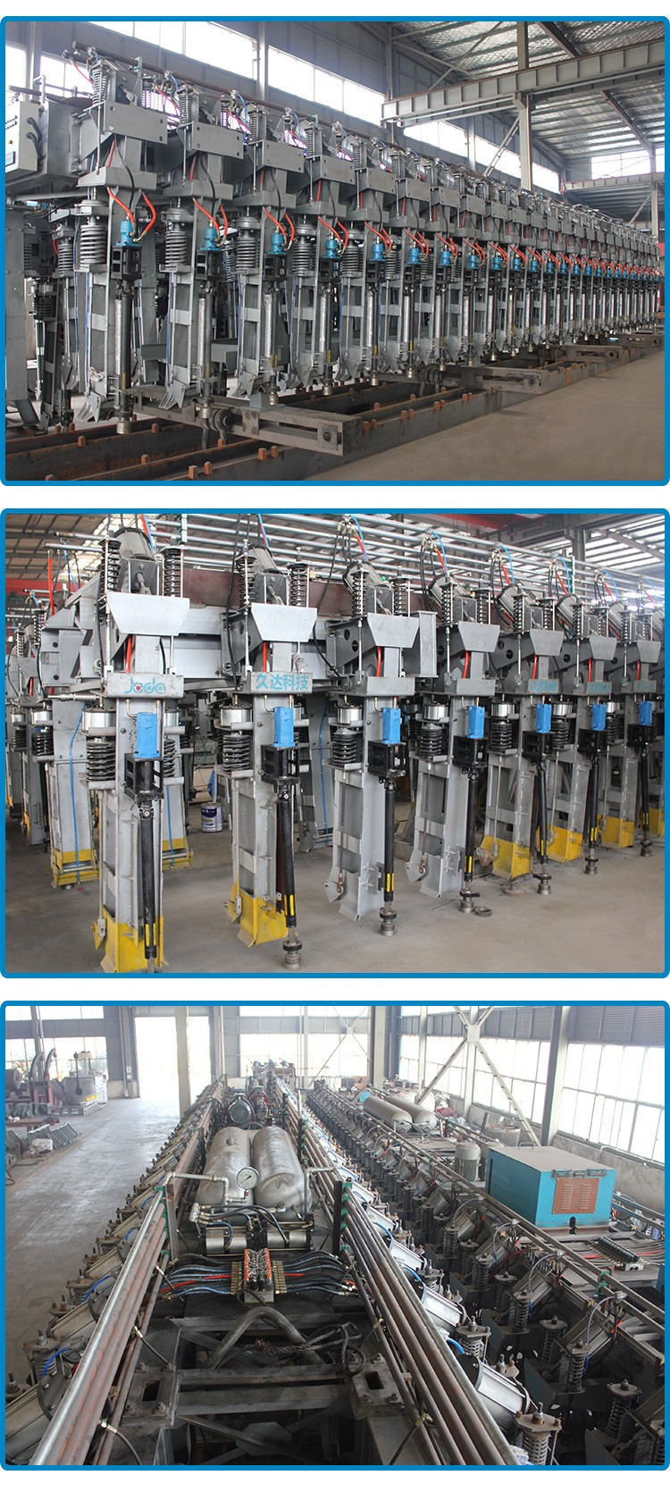 Patented Automatic Anode Jacking Frame for Aluminium Smelter