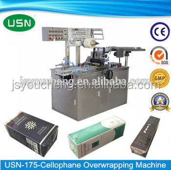 USN-175 automated cosmetic packaging film wrapping machine