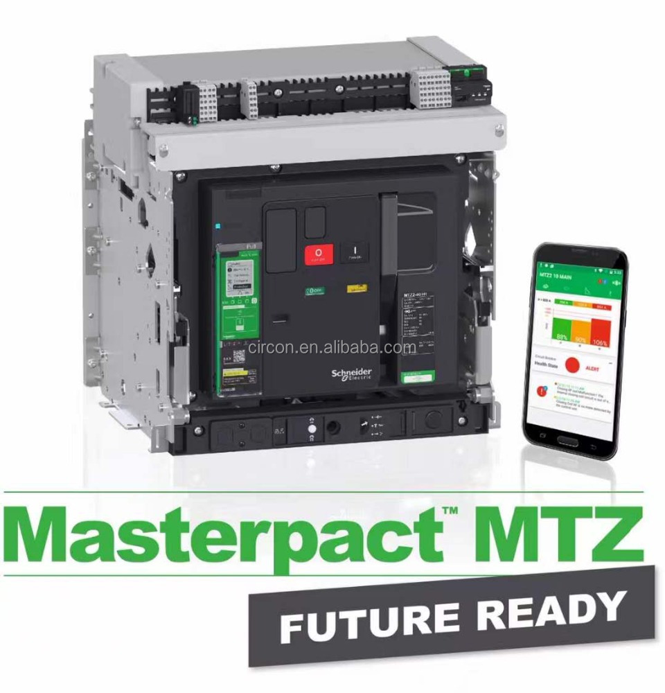 Schneider-electric ACB Air circuit breaker MASTERPACT NT MT NW MVS MTZ micrologic power circuit breakers