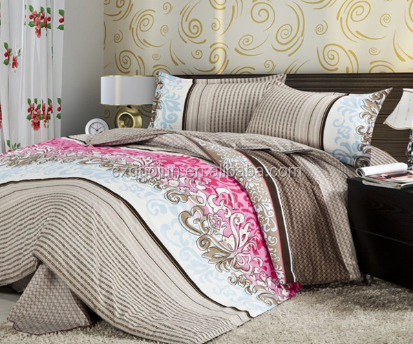 Best price High quality home useful textile fancy printed holiday bedding sets