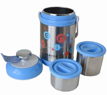 New design round food storage container stainless steel food container