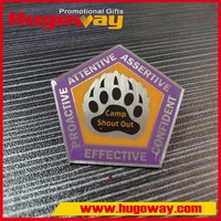 China alibaba high quality Offset Printing custom flag lapel pin