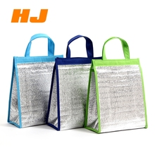 Promotional custom recycled outdoor picnic food fruits non woven insulated cooler bag