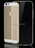 0.3m Ultra Thin Transparent Crystal Clear Soft TPU Case Cover For iPhone 6 Plus 5.5""