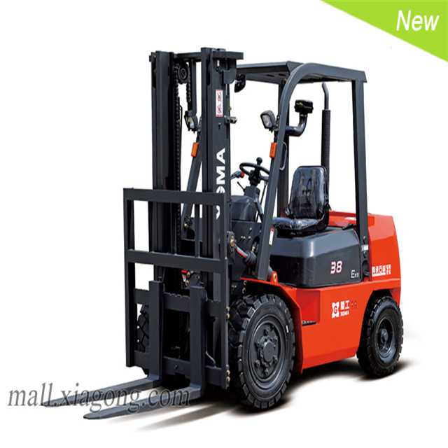 Industrial vehicle, 5 ton diesel engine, fork lift truck