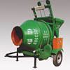 Cement Mixer JZC350, Towable Mini Cement Mixer with Electric Start 6.6HP Diesel Engine Concrete Mixer