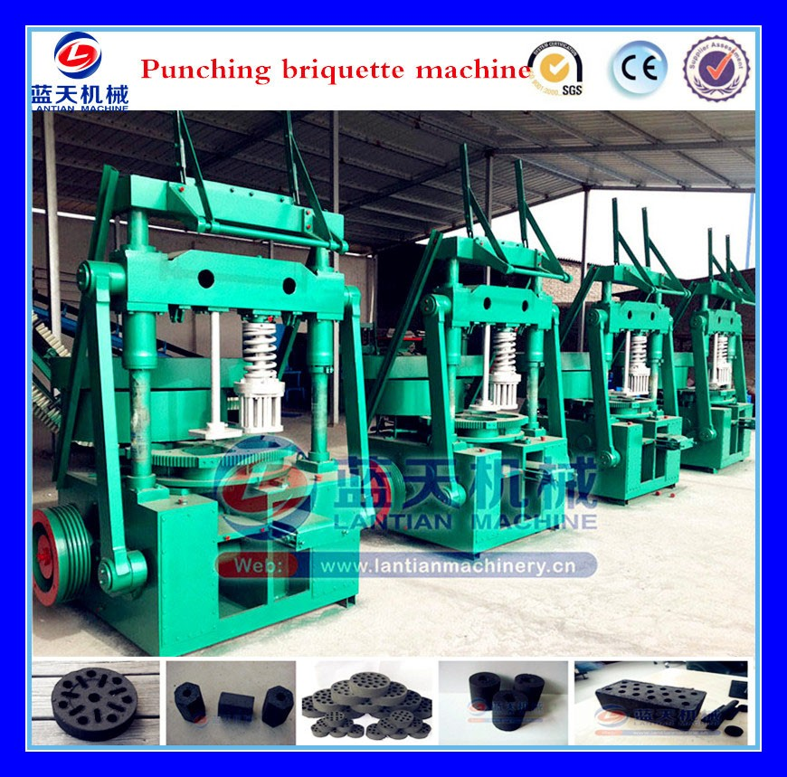 30 years Eggette Making Machine Honeycomb Shaped Briquette Machine