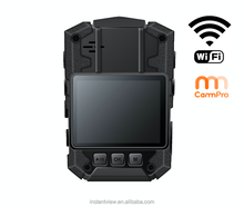 Body worn wifi mini camera with GPS and support wireless connection police video DVR
