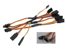 "150mm Futaba Jr Plug 6"" Y servo extension cord"