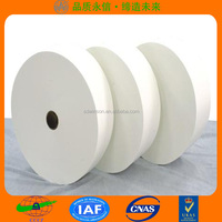 spunlace non-woven polyester and viscose fabric raw material for wet wipes made in china