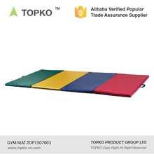 TOPKO Gymnastics Gym Folding Exercise Aerobics Mats Stretching Gym Mat