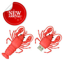 seafood lobster new cool novelty product for flash memory usb