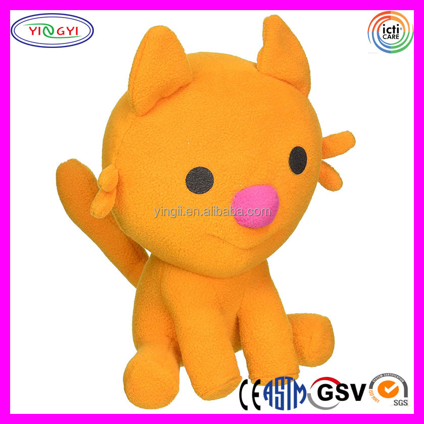 F224 Mini Lovely Cat Keychain Plush Stuffed Toy Animal Cat Lover Gifts