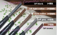 waterproof eyebrow pencil and eyeliner logo brand name OEM
