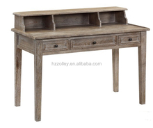 World popular cheap School Wooden Lecture Hall console table/library wood reading writing table