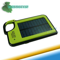 Manufacturer Price Solar Cell Phone Charger Station with Keychain
