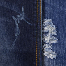 Denim Fabric with Printed Pattern and Jacquard Style, Stretch Denimfabric