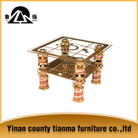 Alibaba High quality home centre glass coffee tables for sale