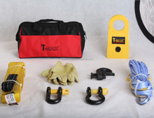 T-max 4wd car Winch Recovery Gear Kit